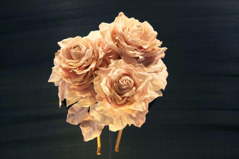 Handmade Silk flower headpiece