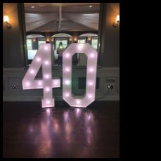 40th birthday bash