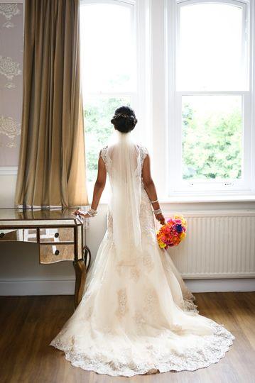Wedding gown - Lisa Cowen Photography Ltd