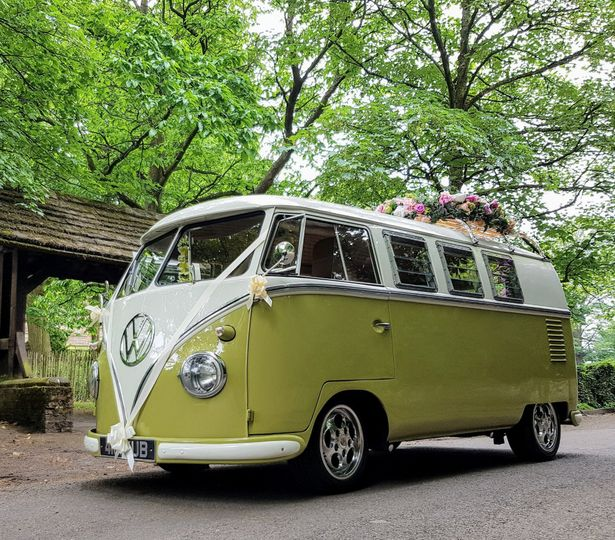 Campervan Wedding hire