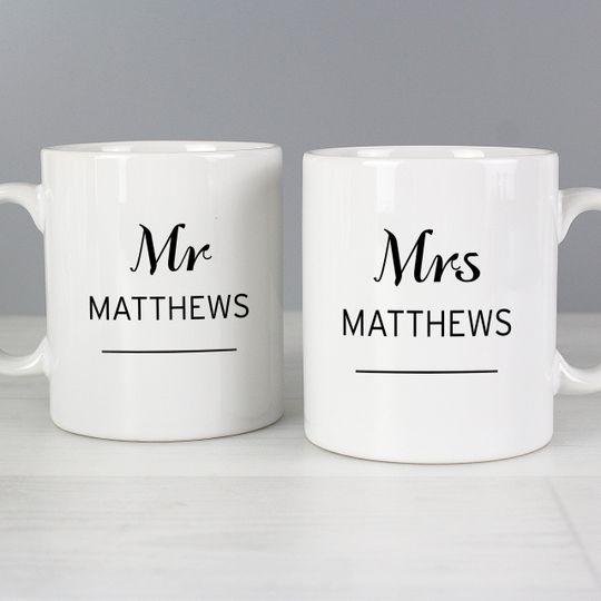 Personalised Mug Set