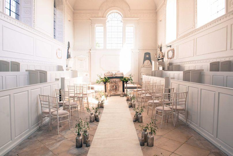 Chapel now licensed for Civil Ceremonies