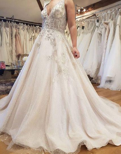 Finding their dream dress