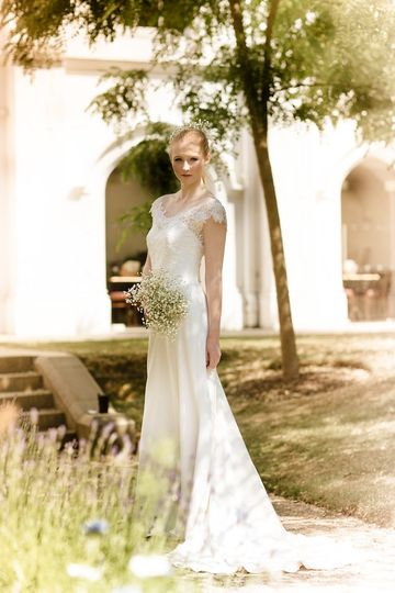 Romantic wedding gowns