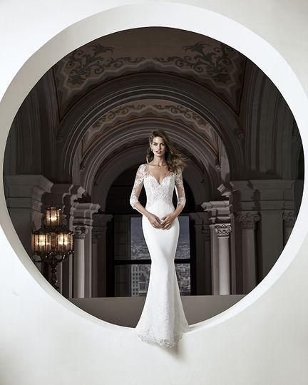 High-fashion gowns