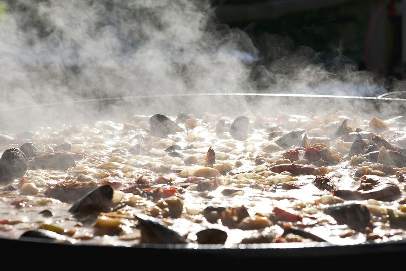 Smoky paellas