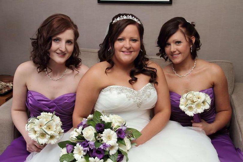 Bride & Bridesmaid Make up