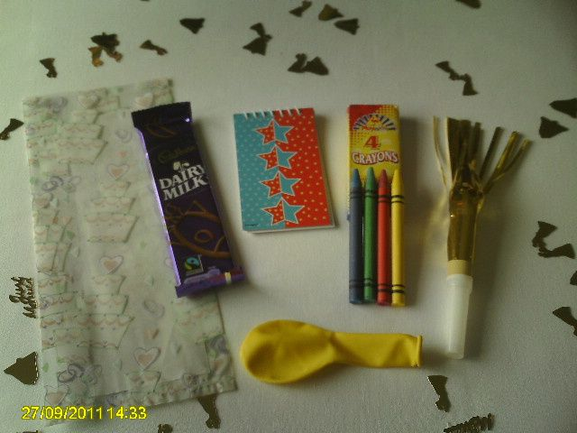 Childrens Wedding Party Pack