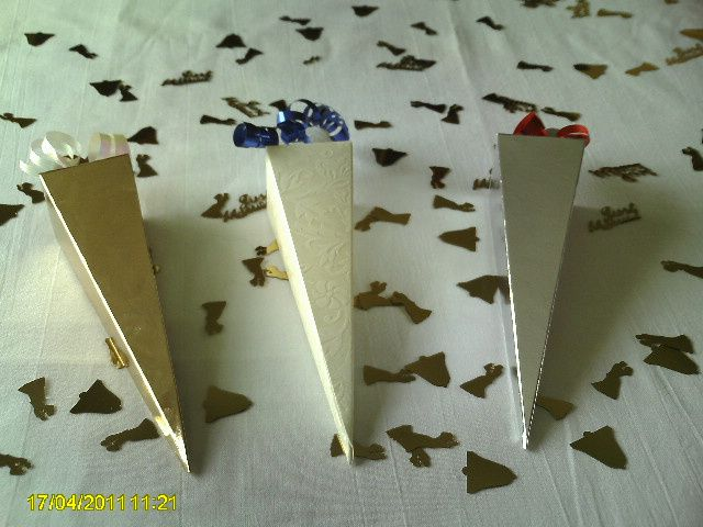 Ladies and Mens Favour Boxes