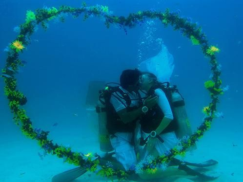 Underwater Weddings