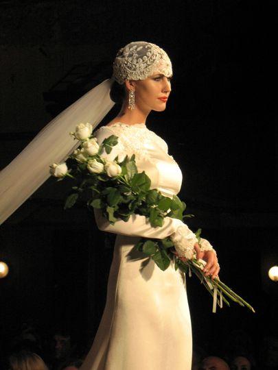 Italian wedding dress