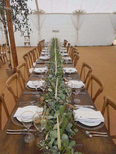 Our Brand New Farmhouse Tables