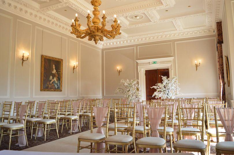 Edwardian Room Ceremony