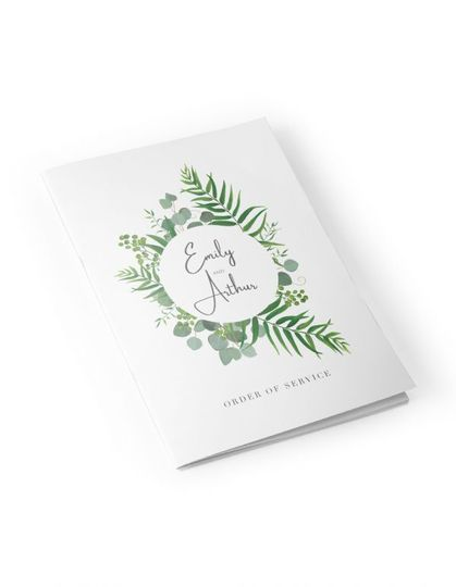 Nature-inspired order of service
