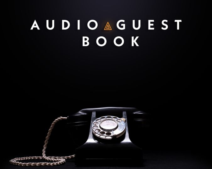 audio guest book with logo 4 276383 160335695645580