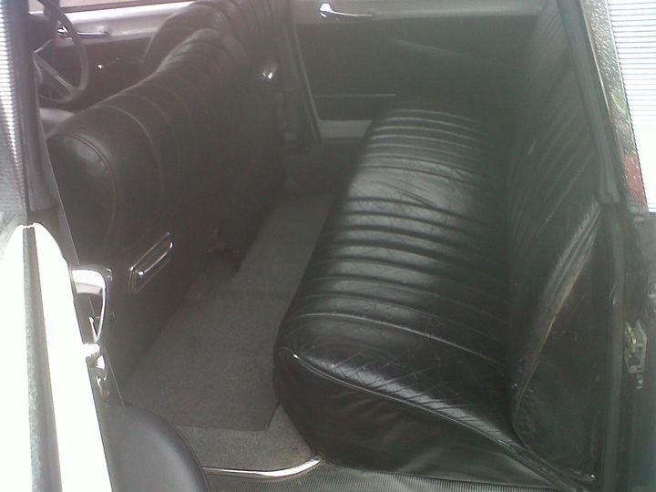 White Citroen DS Interior