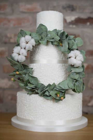 Eucalyptus and lace