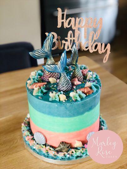 Mermaid celebration