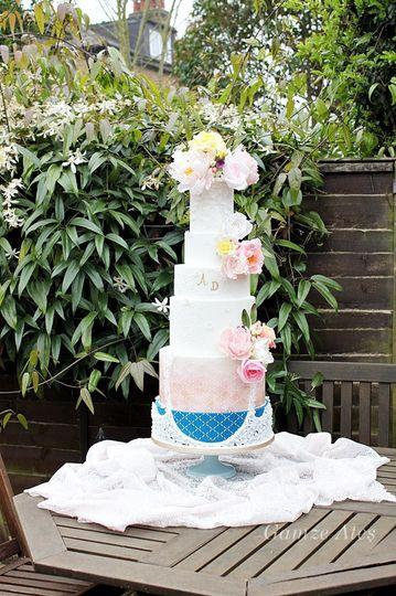 Tiered-wedding cake