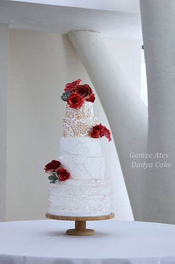 Red-and-white theme