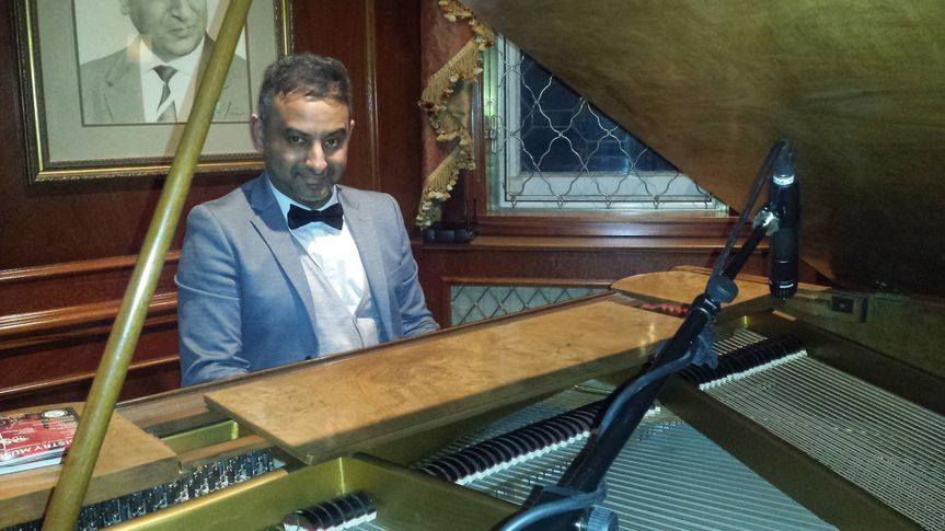 Piano Player Bollywood Western