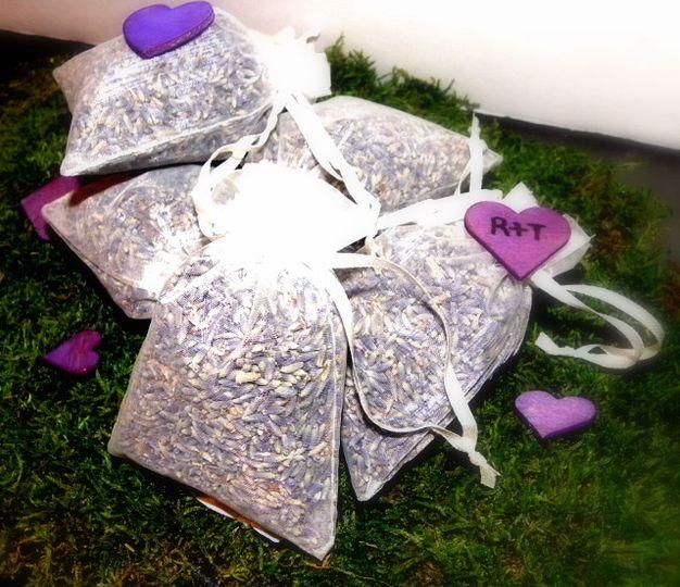 Lavender Filled Favours