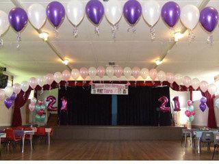 Baloon arangement for birthdays
