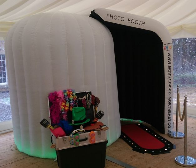 Photo Booth a Otterburn Castle