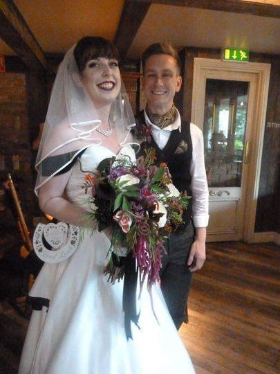 Steam punk wedding
