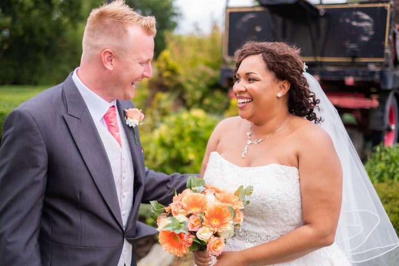 Newlyweds (Photographers Tom Heath Photography)