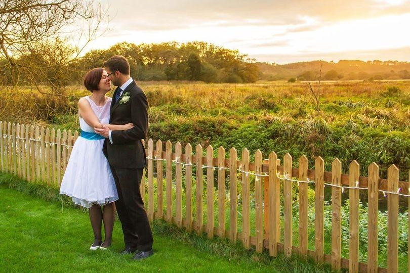 The happy couple (Photographers Tom Heath Photography)