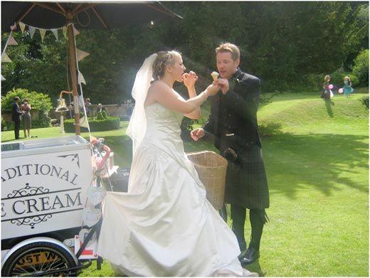 Ice Cream Bike for Weddings