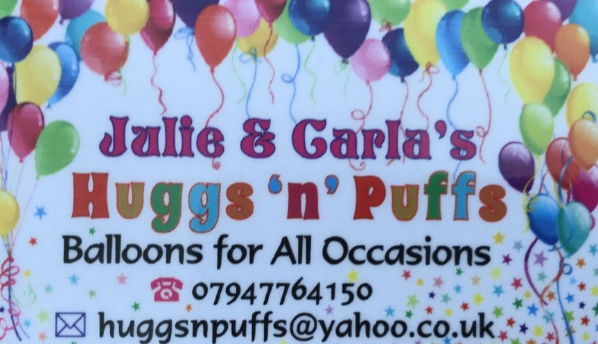 Huggs 'n' Puffs Balloons