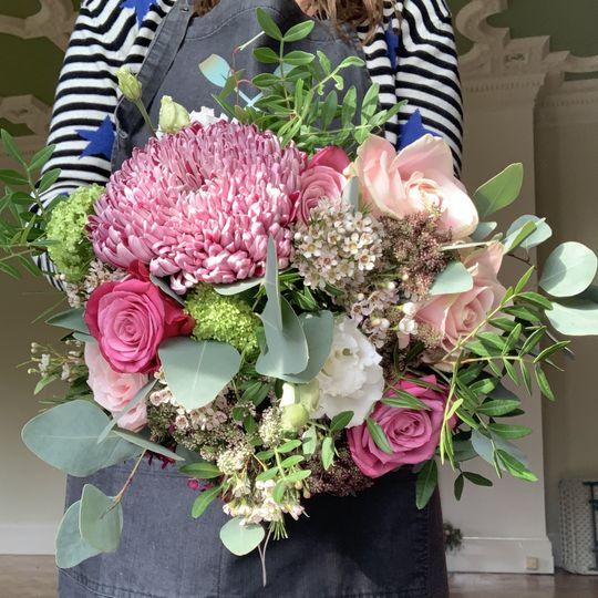 Bright Impact bouquets