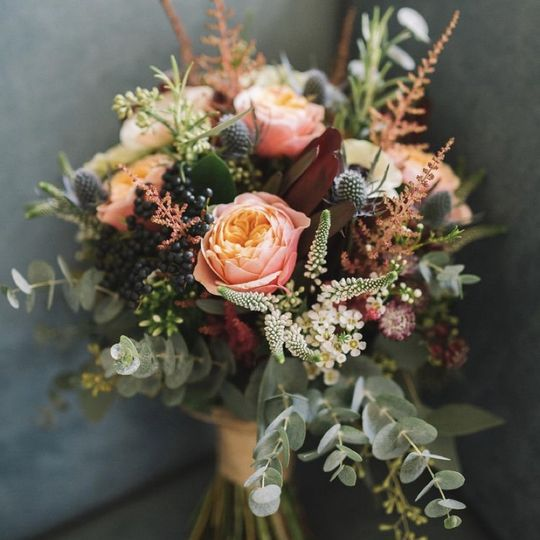 Soft and elegant bouquet