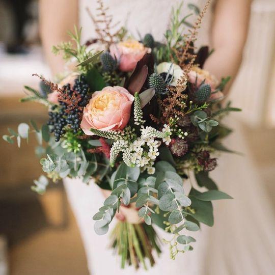 Soft and pretty bouquets