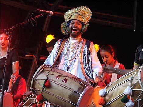 Drum and Bongo