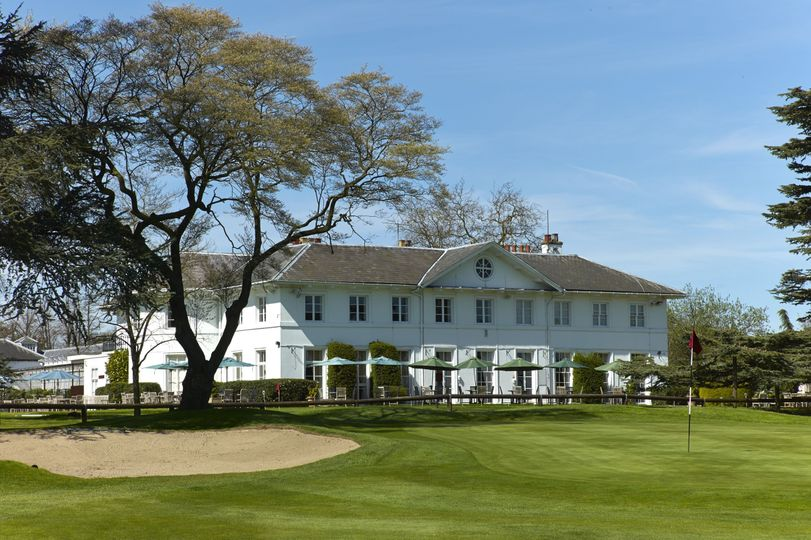 Clubhouse and Terrace from 18th Green