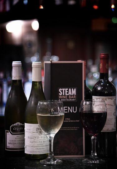 Drinks at Steam Bar