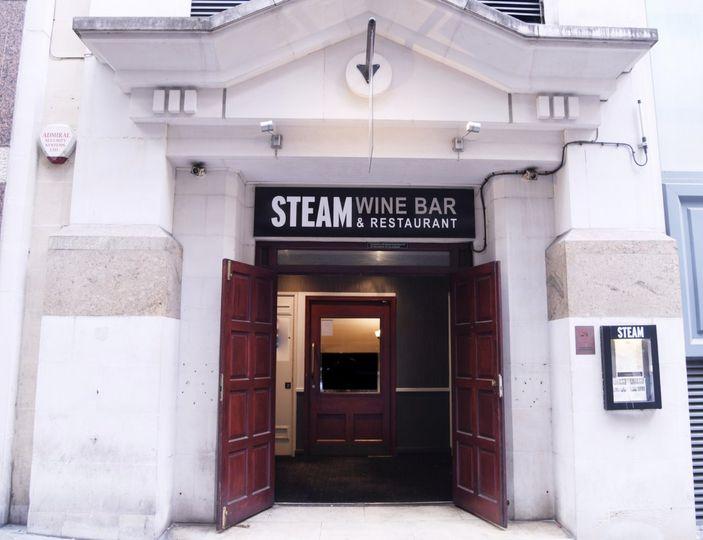 Steam Bar Front Entrance