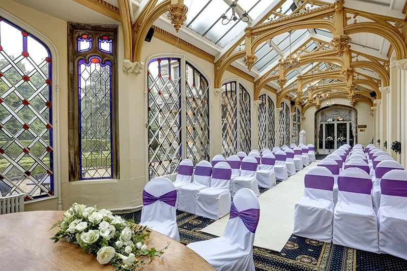Civil Ceremony in Conservatory