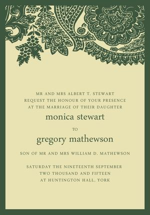 Stationery Invitationery 1