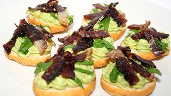 Mouth-watering Canapés