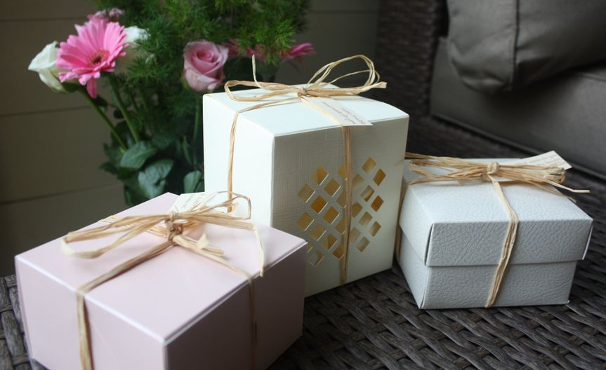 Our lovely handmade bath bombs in gift boxes a perfect gift