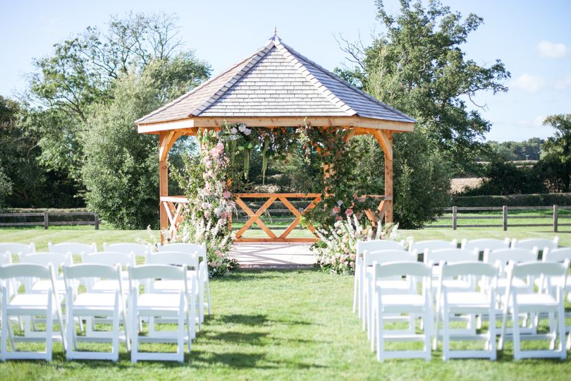 Outdoor Wedding Pavilion