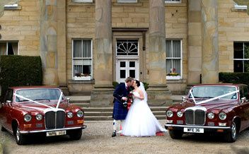 Chauffeured wedding cars