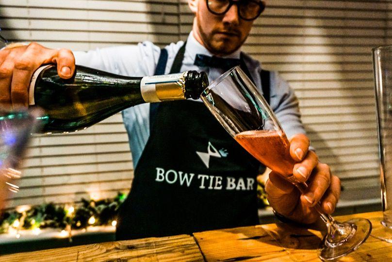 Mobile Bar Services Bow Tie Bar 8