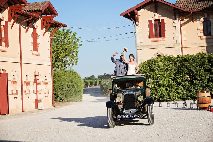 Bordeaux chateau wedding