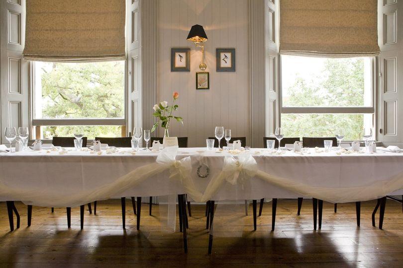 West Room Wedding Table