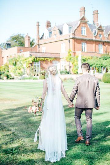 English countryside wedding